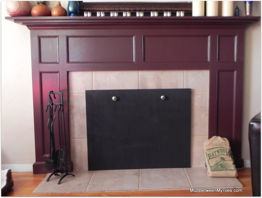 How to cover fireplace fireplace ideas Hide fireplace ideas